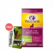 Wellness Complete Health Small Breed Adult Deboned Turkey & Oatmeal Dog Dry Food 12Lb
