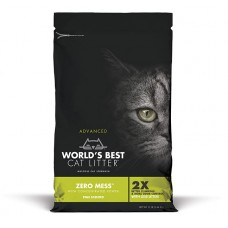 World's Best Cat Litter Pine Scented Zero Mess Clumping Formula 5.44kg