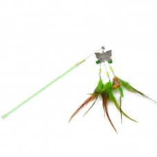 Dooee ButterflyDangling Feather Teaser Green