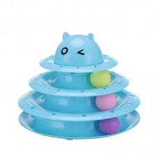 Dooee Circular Ball Track Toy Blue