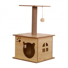 Lavish Cat Tree Boxed House