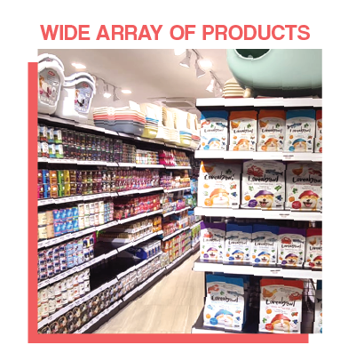 Wide Array Of Products